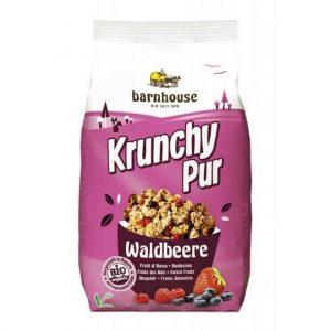 Barnhouse Krunchy granole gozdne jagode 375g