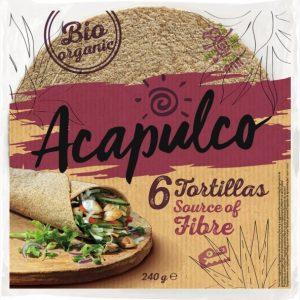 Acapulco Tortilja polnozrnata 240g
