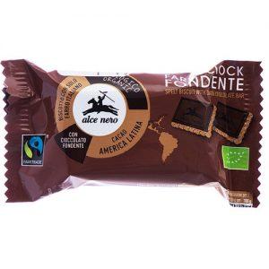 Alce Nero Pirin piškot s temno čokolado 28g