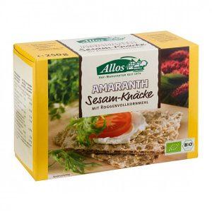 Allos Krekerji amarant sezam 250g