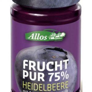 Allos Marmelada borovnica 75% 250g
