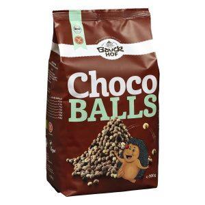 Bauckhof brez glutenski čokoladne kroglice 300g