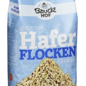 Bauckhof brez glutenski ovseni kosmiči mali 475g