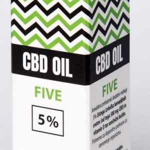CBDEX CBD olje Five 5%, 10ml