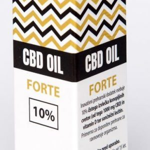 CBDEX CBD olje Forte 10%, 10ml