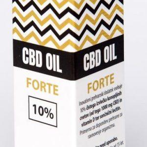 CBDEX CBD olje Forte 10%, 10ml