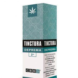 CBDEX Tinktura DEPREMA 2%, 10ml