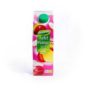 Dennree Sok jabolko/mango 1l