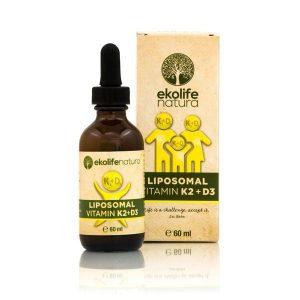 Ekolife natura Liposomski vitamin K2+D3 60ml