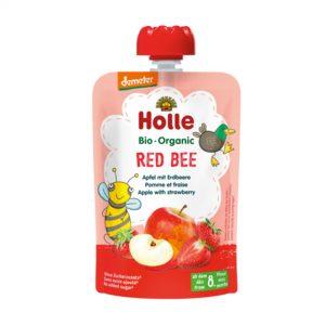 Holle Bio Kašica čebela jabolko jagoda 100g