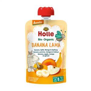 Holle Bio Kašica lama banana jabolko marelica 100g