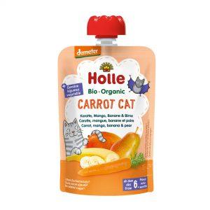 Holle Bio Kašica mačka hruška banana korenje 100g