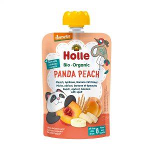 Holle Bio Kašica panda breske banana pira 100g