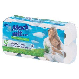 Mach Mit Toaletni papir 8 rolic