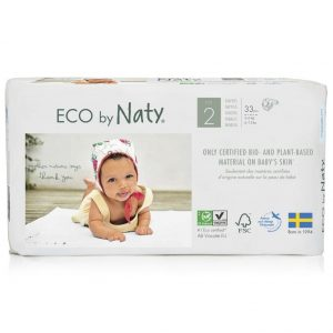 Naty Ekološke plenice ECO 2 Mini (3-6 kg)