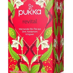 Pukka Čaj Revital 20x1,7g