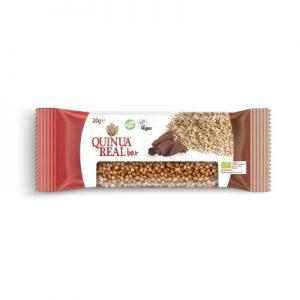 Quinua real Bio brez glutenska ploščica kvinoja/kakav 20g