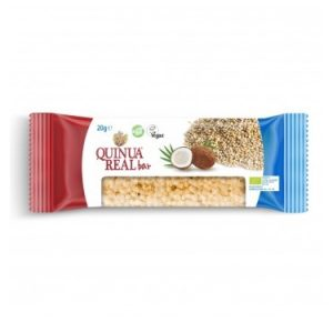 Quinua real Bio brez glutenska ploščica kvinoja/kokos 20g