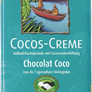 Rapunzel Čokolada kokosova krema 100g