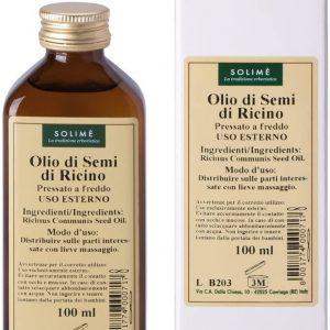 Solime Ricinusovo olje hladno stiskano 100ml