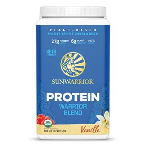 Sunwarrior Warrior Blend rastlinski proteini - Vanilija, 750 g
