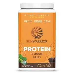Sunwarrior Classic PLUS rastlinski proteini - Čokolada, 750g