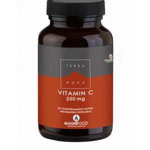 Terranova Vitamin C 250mg 50 kap
